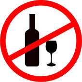 Boose clipart anti No sign clipart alcohol