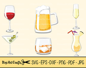 Boose clipart rum Simple SVG set / DIY