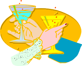 Alcohol clipart toast 1 Art Free Clipart page
