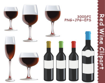 Boose clipart bourbon Wine Clip Red Drinks Alcohol