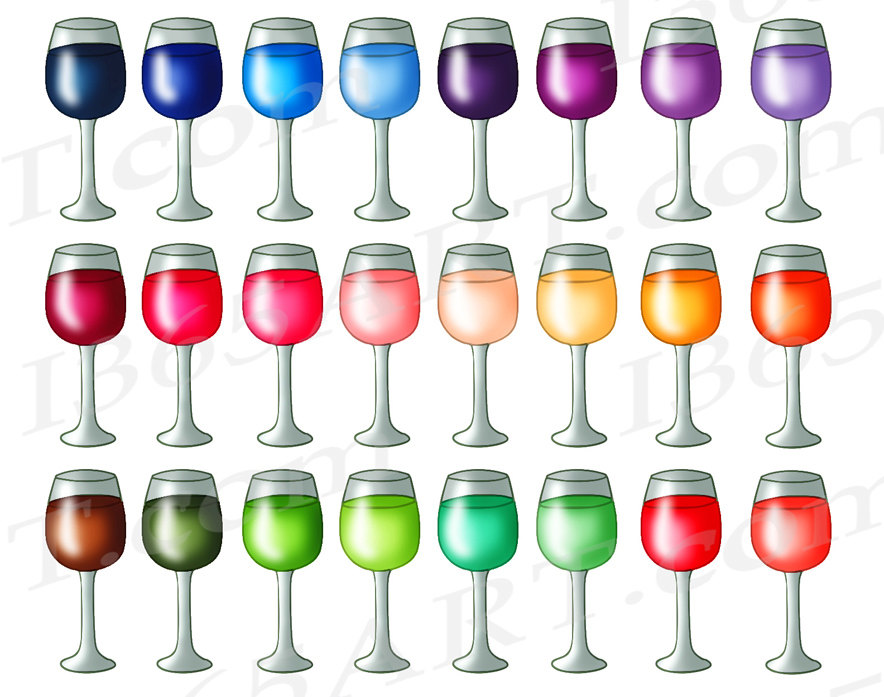 Alcohol clipart wedding wine glass A  Clip Wine file