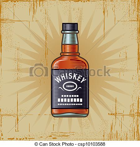 Alcohol clipart whisky bottle And free 543 whiskey