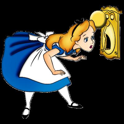 Alice In Wonderland clipart door knob In Alice Alice Online Disney