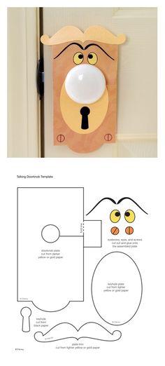 Alice In Wonderland clipart door knob Talking  Doorknob