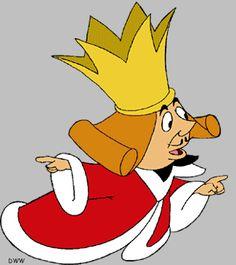 Alice In Wonderland clipart king hearts #7