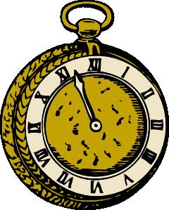 Alice In Wonderland clipart stopwatch Clker online Clip Pocketwatch com