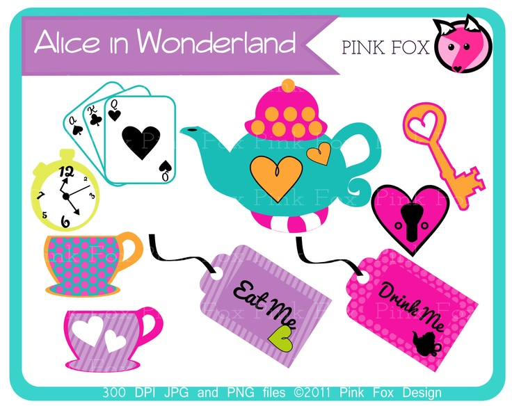 About clipart alice PRINTABLES wonderland