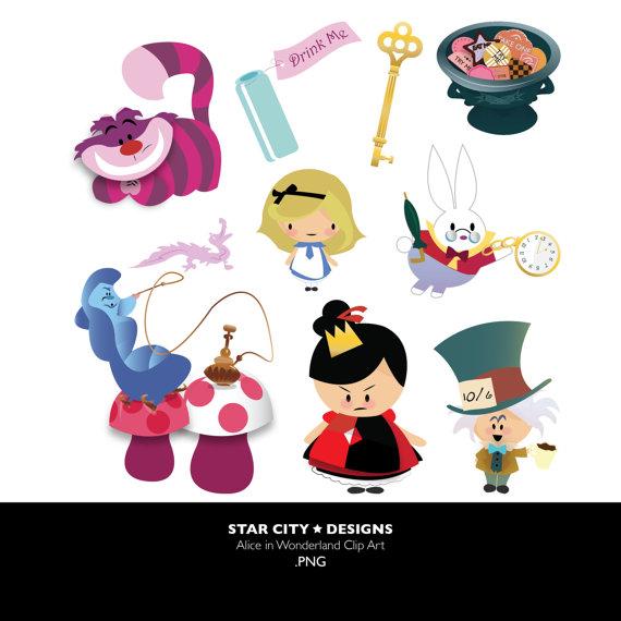 Alice In Wonderland clipart vector Clip Vector Art Graphics Personal