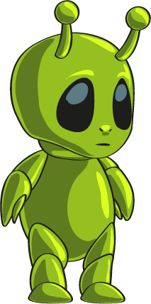 Alien clipart red monster Art Green Public Alien Clip