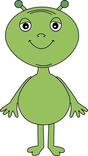 Alien clipart happy Art Image Alien Alien Alien