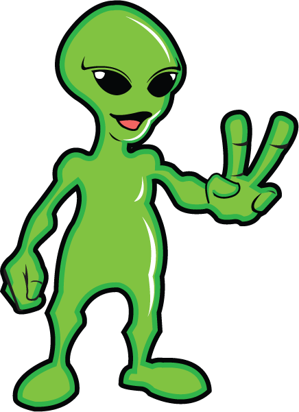 Alien clipart red monster Clipart art images for Alien