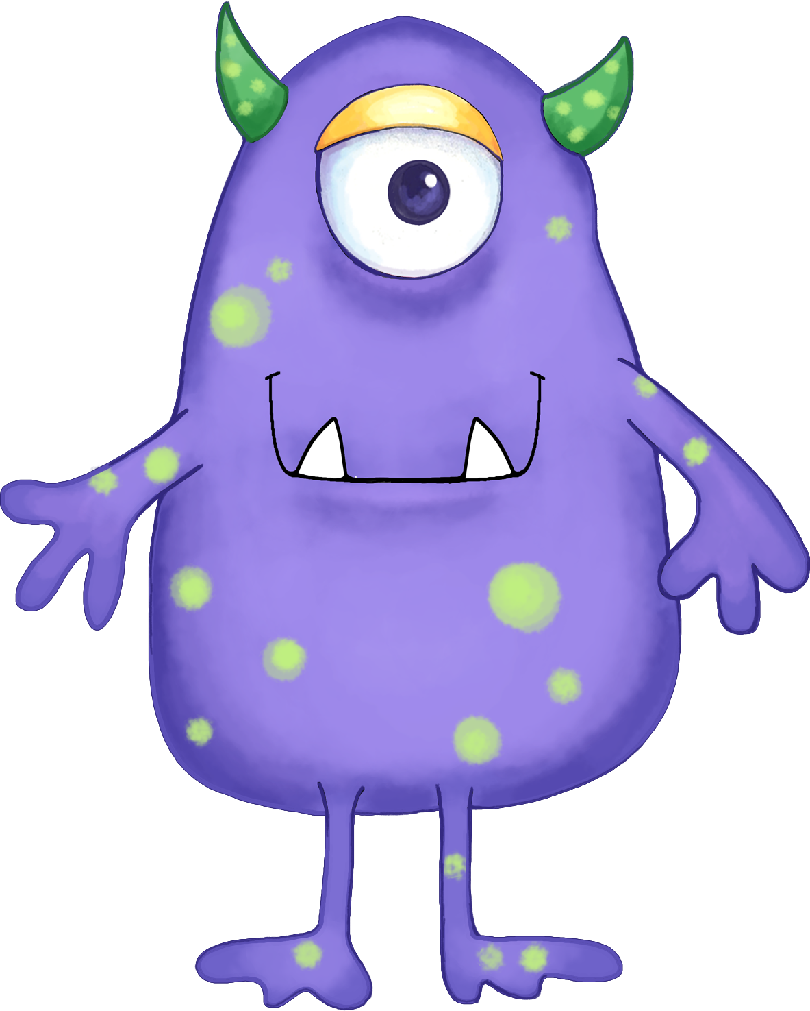 Pink Eyes clipart baby monster #11