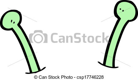 Alien clipart black and white Cartoon Vector alien  antenna