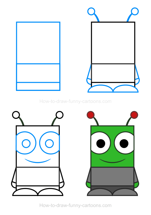 Alien clipart must How To Alien Clipart Draw