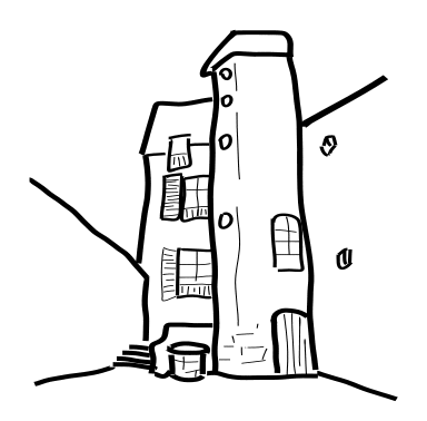 Alley clipart building #3