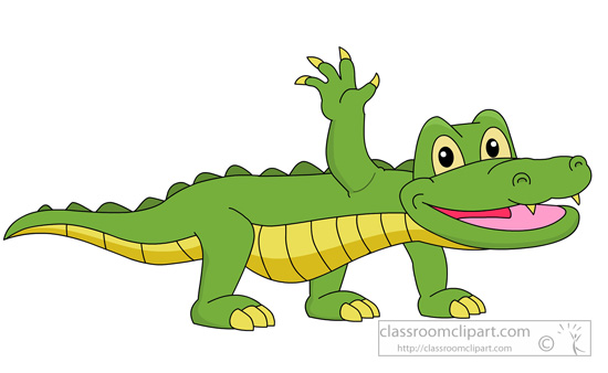 Alligator clipart chemical solution Clipart Alligator Clip Clipart Kb