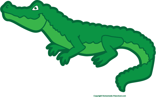Alligator clipart muscular Crocodile free clipart Alligator alligator