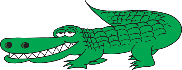 Alligator clipart heart Alligator clipart alligators Crocodile clipartix