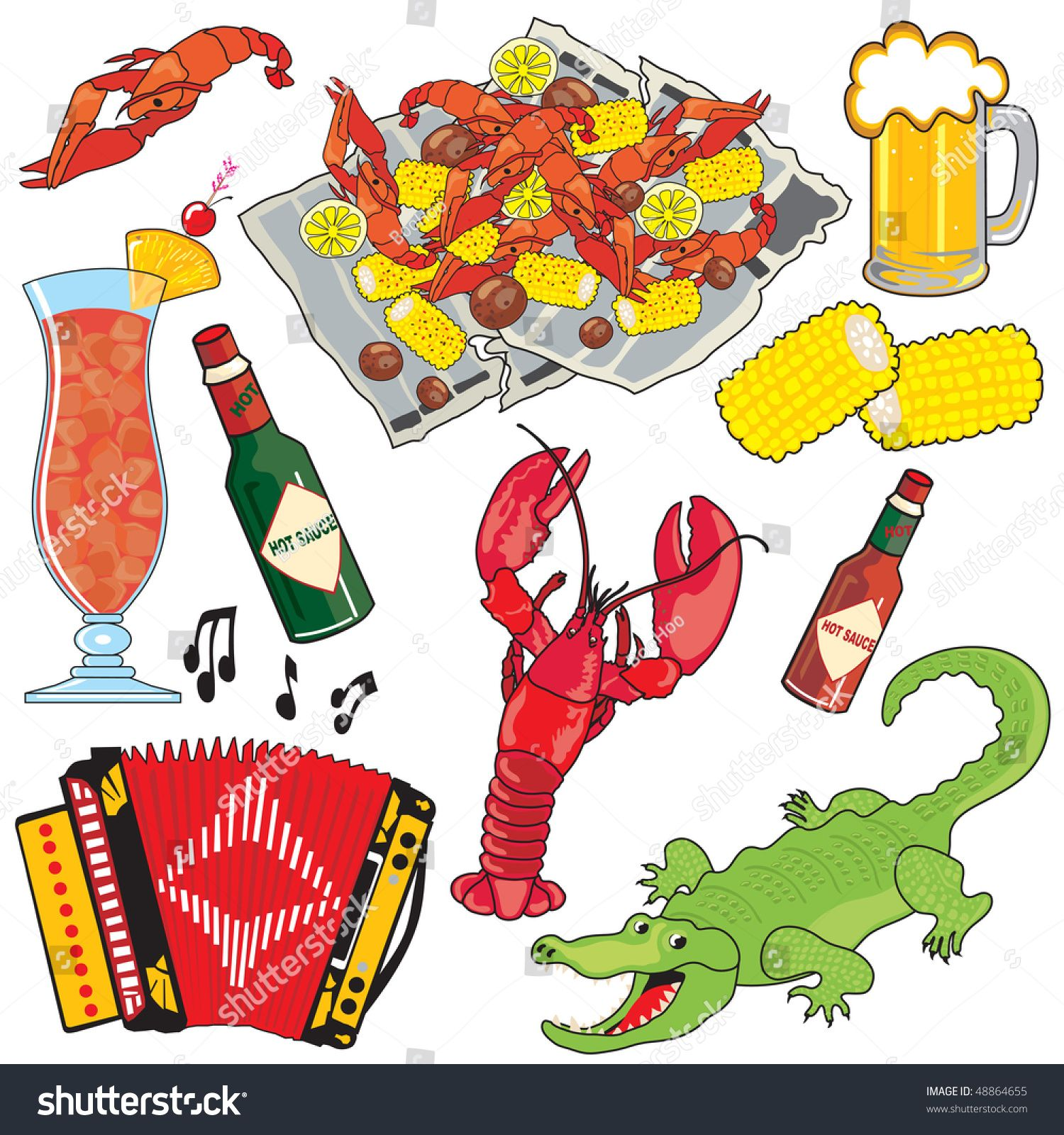 Alligator clipart cajun food Clip food Clip Art Louisiana