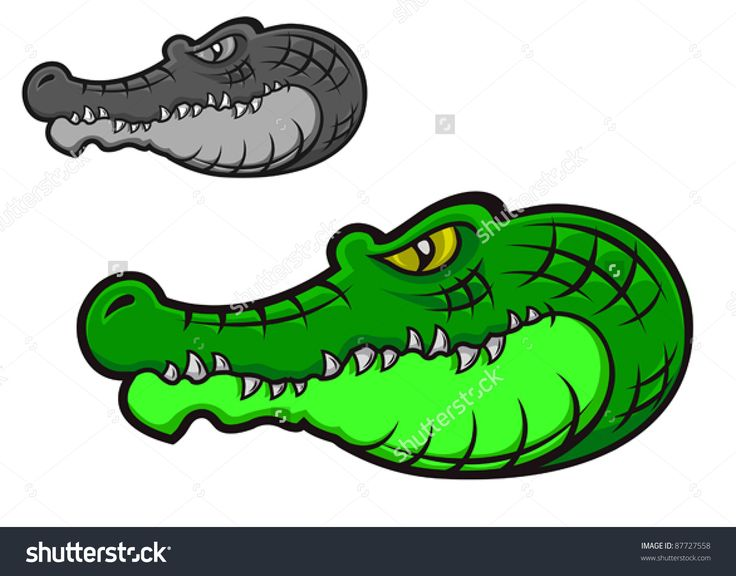 Alligator clipart head dress 42 Alligator Head Alligator Pinterest