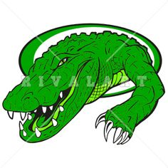 Alligator clipart head dress Clipart A Image Mascot Its