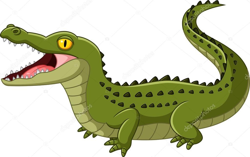 Alligator clipart mouth open Crocodile Crocodile Illustration open ©