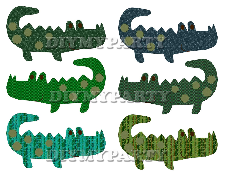 Alligator clipart printable  clipart Printable Art decor