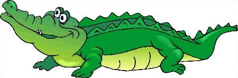 Alligator clipart two Two American Alligator the 800