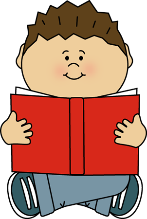 Alone clipart Kid Reading Kid Image Reading