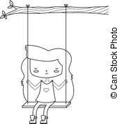 Alone clipart black and white On YOU message IllustrationsSee ALONE