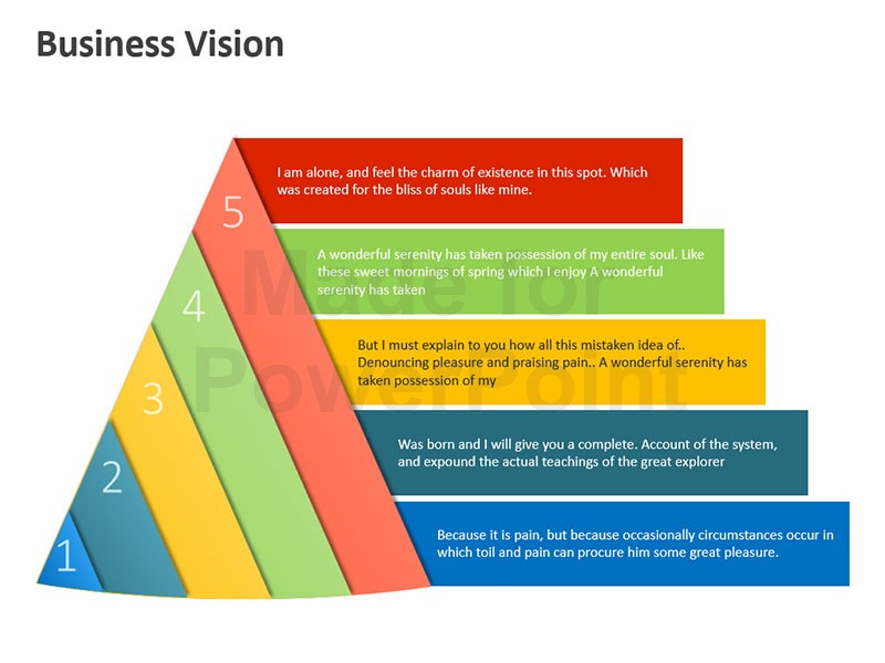 Alone clipart business process Vision Graphics Business PowerPoint Editable
