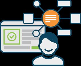 Alone clipart business process Platform Bonitasoft applications Process business