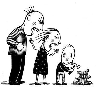 Violence clipart unhappy family On about Relationships images 155