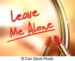 Alone clipart leave me Download Art Leave Leave –
