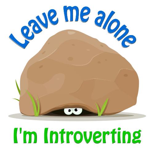 Alone clipart leave me Shopateria Introverting Leave Leave Mug