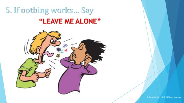 """Alone clipart leave me ME """"LEAVE way ALONE"""