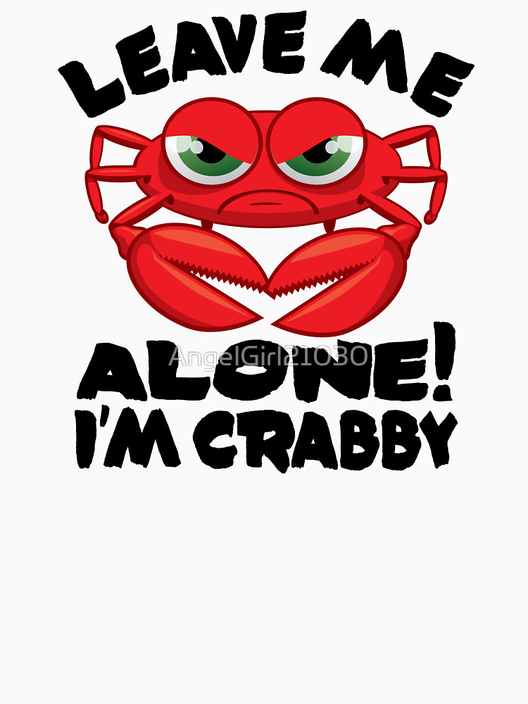 Alone clipart leave me  & Crabby