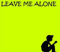 Alone clipart leave me Leave Me Clipart Alone Me