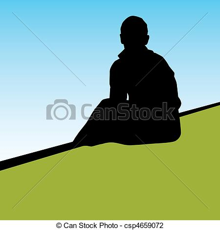 Lonely clipart Free 153 lonely a Person