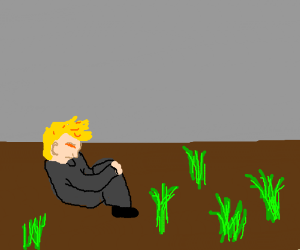Alone clipart sat Boggy marsh alone Trump sat