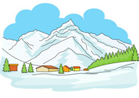 Alps clipart chalet Graphics Results Alps Search Europe