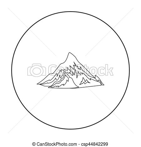 Alps clipart White in illustration in on