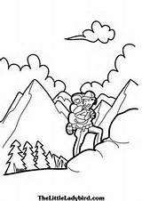 Alps clipart black and white Italy Hiking images about Hiker