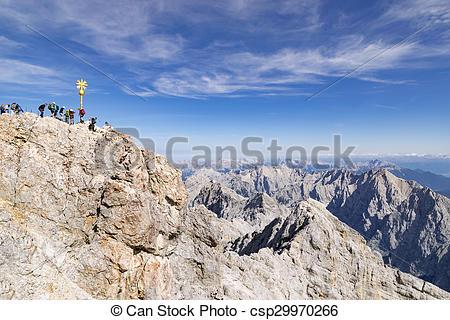 Summit clipart alps Summit Summit of Stock of