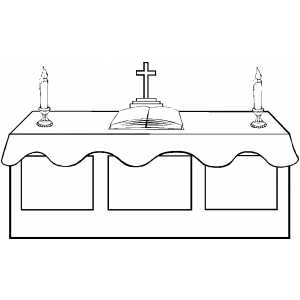 Altar clipart Altar Clipart Catholic Download –