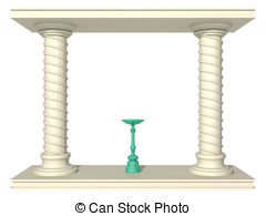 Altar clipart Stock Illustrations art altar clip
