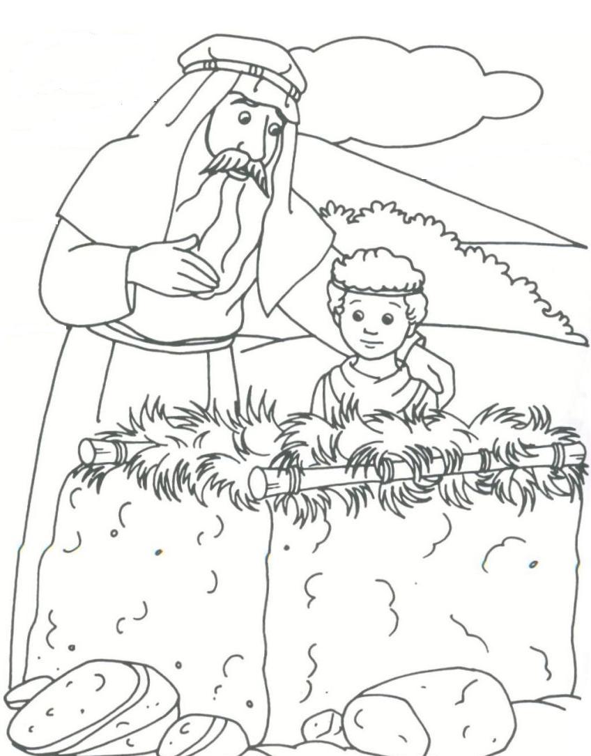 Altar clipart abraham OT Isaac & altar by