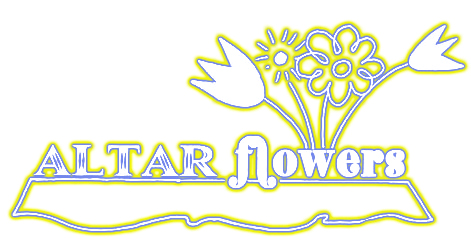 Altar clipart altar flower Altar title and in Flowers