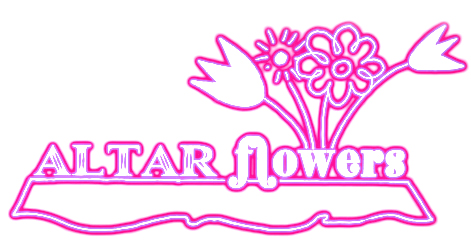 Altar clipart altar flower Review Altar title purple in