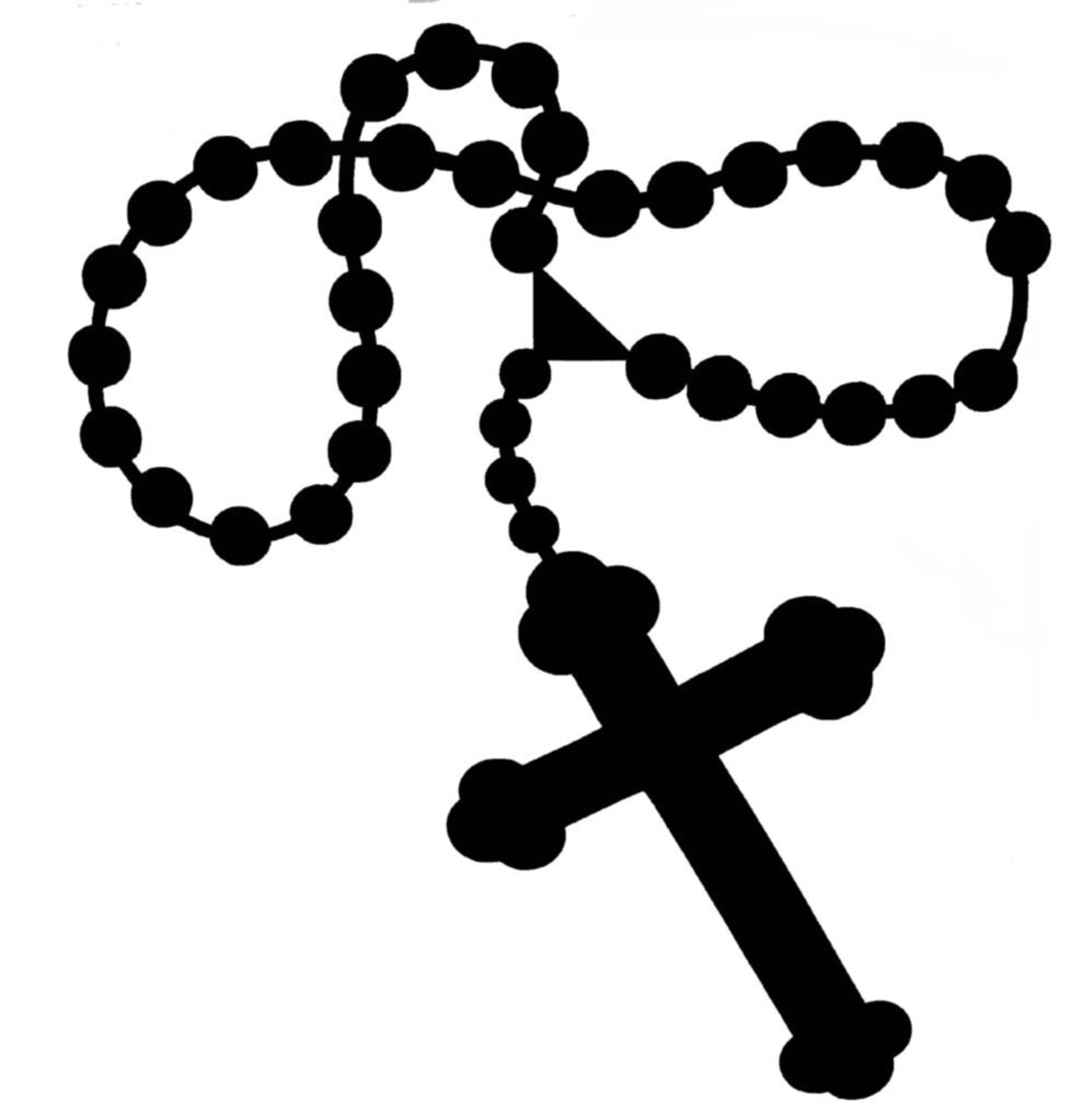 Altar clipart black and white #9
